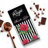 Rage Thank You Black White Dark Chocolate - 90 Grams(#1029)-thumb-0