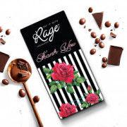 Rage Thank You Black White Dark Chocolate - 90 Grams(#1029) - Getkraft.com