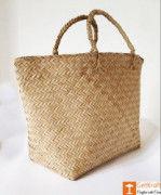 Seagrass or Sitalpati Shopping Bag(#1041) - Getkraft.com