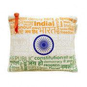 Pouch Canvas pouch for women Eco Friendly Tricolor Canvas Pouch(#1072) - Getkraft.com