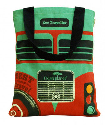 Tote bagTote bag for women (Green and Black)(#1074)-gallery-0