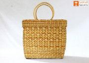 Natural Straw Hand Bag(#1106) - Getkraft.com