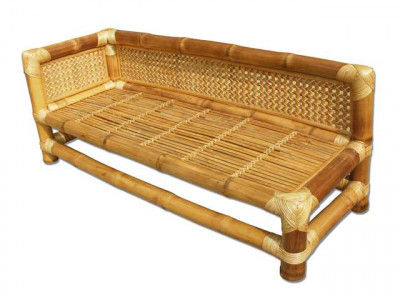 Bamboo Bed Sofa(#112)-gallery-0