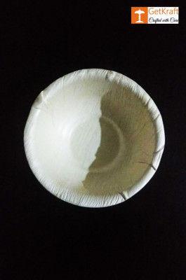 Areca Leaf Round Bowl(#1130)-gallery-0