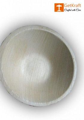 Areca Leaf Round Bowl(#1134)-gallery-0