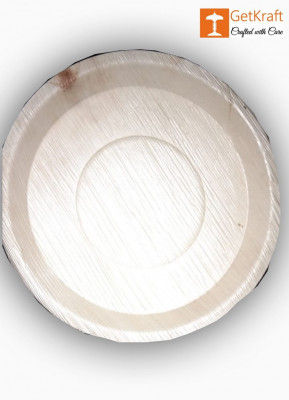 Areca Leaf Round plate(#1139)-gallery-0