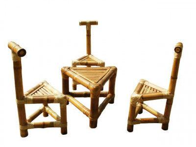 Tea Table Set - Triangular(#116)-gallery-0