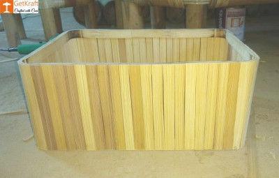 Handmade Bamboo Basket(#1161)-gallery-0