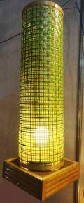 Bamboo Net Coloured Lamp(#118)-thumb-3