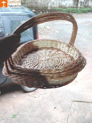 Wicker Willow Gift Basket (with) Handle Set Of 3(#1189)-gallery-0