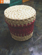 Palm Leaves Container box with Lid(#1207) - Getkraft.com