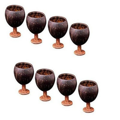 Coconut Shell Wine Cup(#1239)-gallery-0