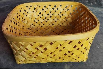 Kaya Basket Natural (Without Handle)(#1266)-gallery-0