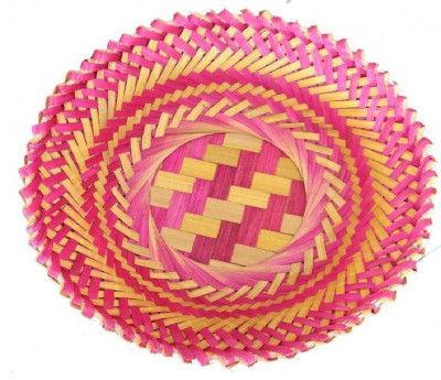 Bamboo Basket Round(#1267)-gallery-0