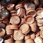 Willow wicker round gift tray(#1323) - Getkraft.com