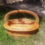 Wicker Oval basket Set of three(#1324) - Getkraft.com