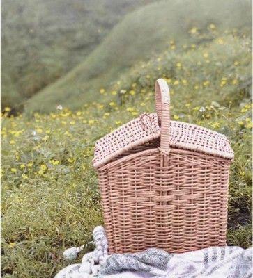 Wicker Willow Picnic basket(#1326)-gallery-0