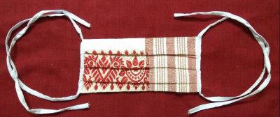 Gamosa Printed Cotton Handmade Mask (Pack of 5)(#1330)-gallery-0