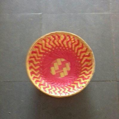 Bamboo fruit basket round(#1361)-gallery-0