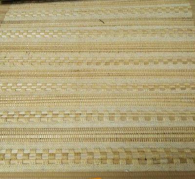 Handwoven Plain Natural Bamboo Floor Mat(#1417)-gallery-0
