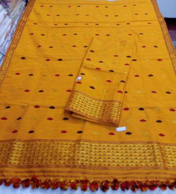 Assamese Staple Cotton Mekhela Chador P9(#1440)-gallery-0