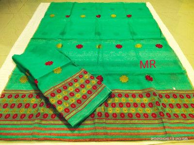 Assamese Nooni Cotton Mekhela Chador P22(#1452)-gallery-0