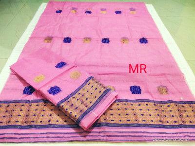 Assamese Nooni Cotton Mekhela Chador P23(#1453)-gallery-0
