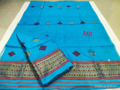 Assamese Nooni Cotton Mekhela Chador P24(#1454)-gallery-0
