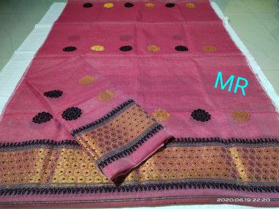 Assamese Nooni Cotton Mekhela Chador P26(#1456)-gallery-0