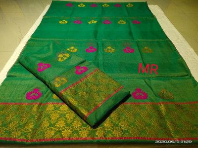 Assamese Nooni Cotton Mekhela Chador P28(#1459)-gallery-0