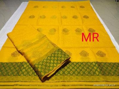 Assamese Nooni Cotton Mekhela Chador P30(#1461)-gallery-0