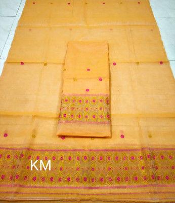 Assamese AC Cotton Mekhela Chador P42(#1473)-gallery-0