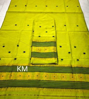 Assamese Staple Cotton Mekhela Chador P50(#1481)-gallery-0