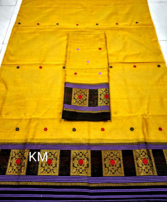 Assamese Staple Cotton Mekhela Chador P53(#1483)-gallery-0