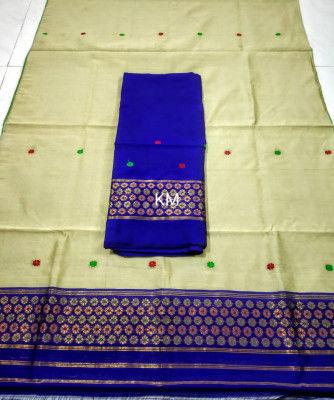 Assamese Staple Cotton Mekhela Chador P54(#1484)-gallery-0