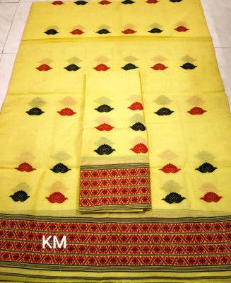 Assamese AC Cotton Mekhela Chador P61(#1490)-gallery-0