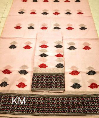 Assamese AC Cotton Mekhela Chador P69(#1498)-gallery-0