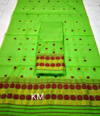 Assamese AC Cotton Mekhela Chador P72(#1500)-gallery-0