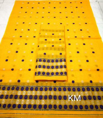 Assamese AC Cotton Mekhela Chador P74(#1502)-gallery-0