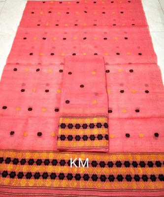 Assamese AC Cotton Mekhela Chador P75(#1503)-gallery-0