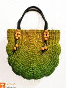 Attractive Multicolored Natural Straw Ladies Bag(#151) - Getkraft.com