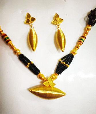 Assamese Traditional Silikha Moni Jewellery for Women(#1516)-gallery-0