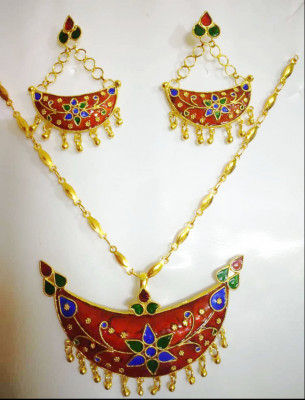 Assamese Traditional Jonbiri Jewellery for Women(#1518)-gallery-0