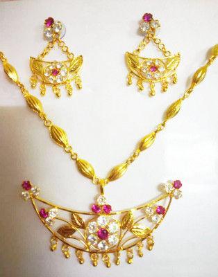 Assamese Traditional Jonbiri Jewellery for Women(#1519)-gallery-0