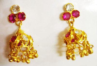 Assamese Traditional Earrings For Women(#1536)-gallery-0