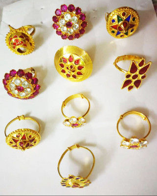 Assamese Traditional Ring For Women(#1537)-gallery-0