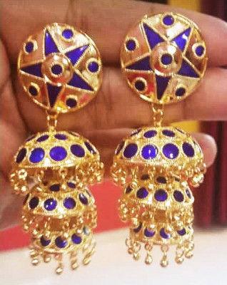 Axomia Traditional Nila Japi Earrings(#1541)-gallery-0