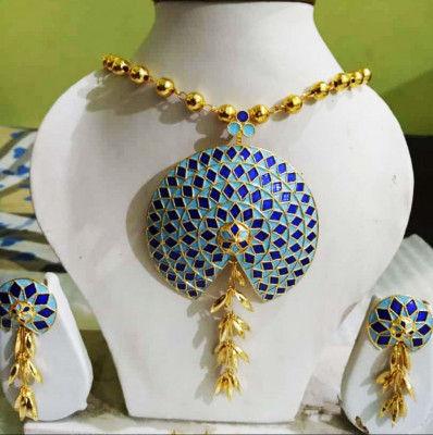 Beautiful Designer Nila Japi Jewellery Set for Women(#1546)-gallery-0