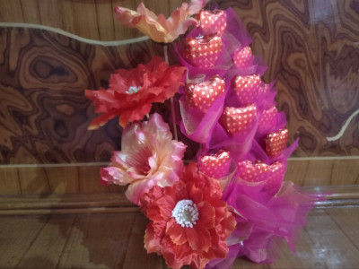 Occasional chocolate bouquet(#1556)-gallery-0