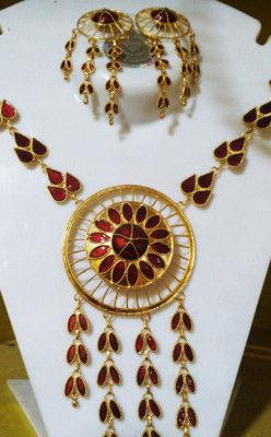 Designer Japi Jewellery Set for Women(#1559)-gallery-0